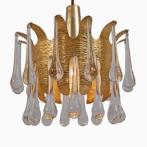 Lampes à Suspension Vintage par Ernst Palme pour Palwa, 1960s, Set de 2