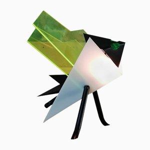 Lámpara de mesa italiana en forma de insecto de plexiglás, años 70