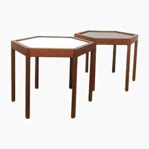 Tables d'Appoint par Hans Christian Andersson, 1950s, Set de 2