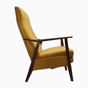 Poltrona Mid-Century moderna reclinabile, Danimarca, anni '60