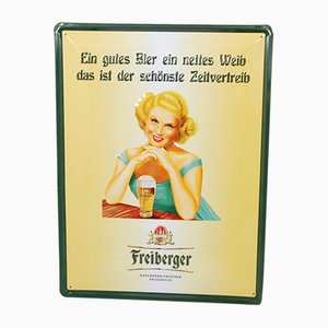 German Freiberger Metal Advertisement, 1970s