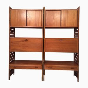 Vintage Ladderax Modular Shelving & Storage System by Robert Heal for Staples Cricklewood