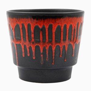 Maceta Fat Lava de Roth Keramik, años 70