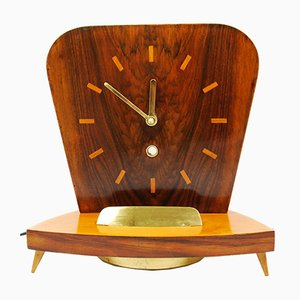German Fireplace Clock from Miller, 1950s