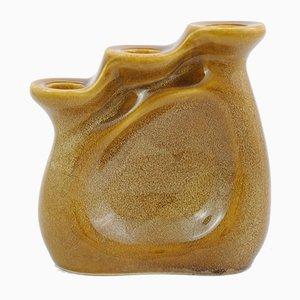 Polnischer Kerzenhalter aus Keramik von Adam Sadulski für Mirostowice, 1970er