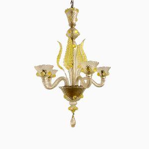 Vintage Venetian Murano Glass Chandelier