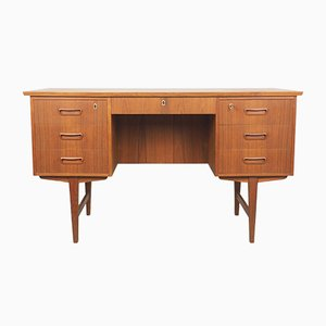 Danish Teak Writing Desk, 1960s