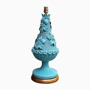Große Vintage Tischlampe aus Keramik von Bondia
