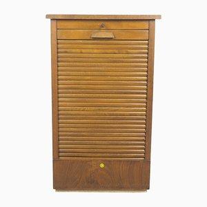 Petite Commode Vintage avec Porte Tambour, 1950s