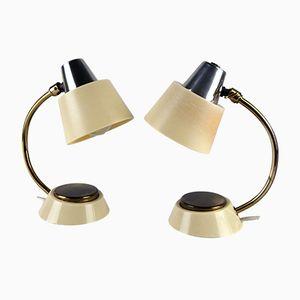 Tischlampen mit Tastlichtschalter, 1960er, 2er Set