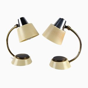 Table Lamps with Touch Light Switch, 1960s, Set of 2