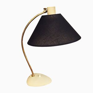 Mid-Century Swedish Metal Table Lamp, 1950s