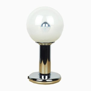 Lampada da tavolo in metallo cromato di Targetti Sankey, anni '70