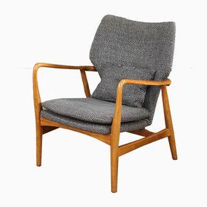 Armlehnstuhl mit niedriger Rückenlehne von Aksel Bender Madsen für Bovenkamp, 1960er