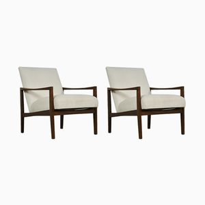 Mid-Century Scandinavian Easy Chairs, 1960s, Set of 2