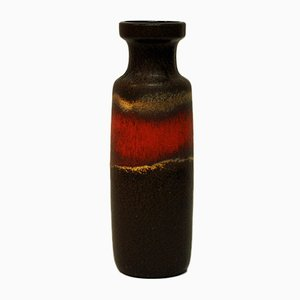 Vintage Model 200-28 Ceramic Lava Vase from Scheurich, 1960s