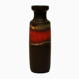 Vintage Modell 200-28 Lava Keramikvase von Scheurich, 1960er