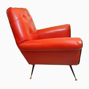 Vintage Modern Armchair, 1970s