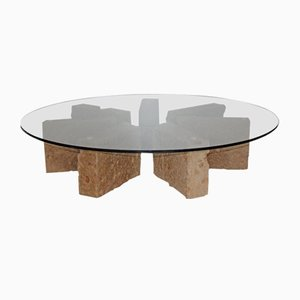 Stonehenge Coffee Table by Pietro Meccani for Meccani Design