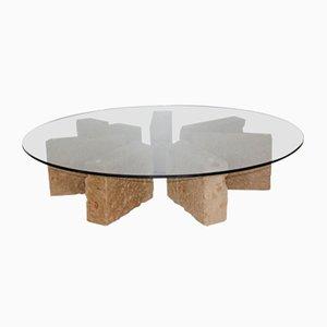 Tavolino da caffè Stonehenge 1 di Pietro Meccani per Meccani Design