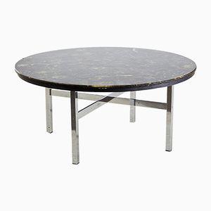 Table Vintage en Epoxy Vert, 1970s