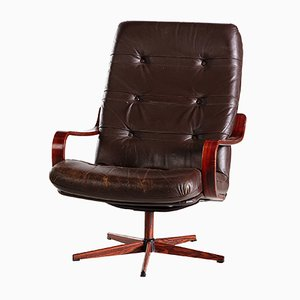 Mid-Century Leather Chair, 1960s