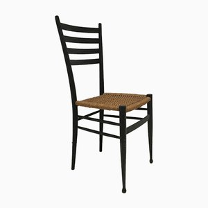 Vintage Italian Wooden Dining Chair