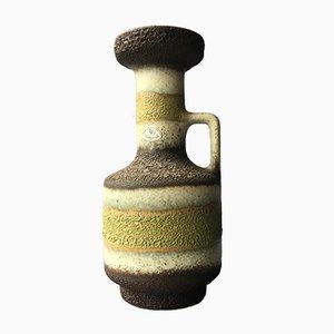 Deutsche Mid-Century Keramikvase von Ü-Keramik, 1960er