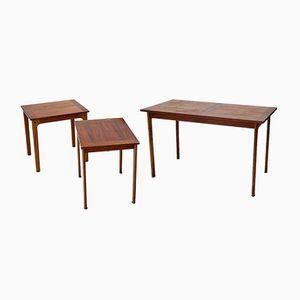 Vintage Side Tables, 1950s, Set of 3