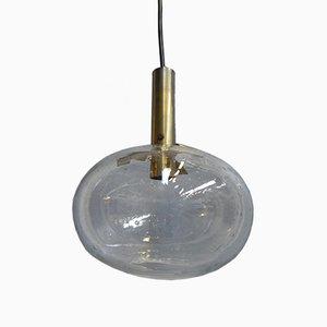 Lampe à Suspension Vintage avec Globe en Verre