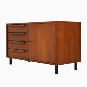 Small Mid-Century Teak Sideboard from WK Möbel