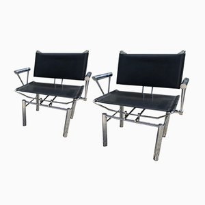 Vintage Armchairs by Hans Ulrich for Kusch+Co, 1980s, Set of 2