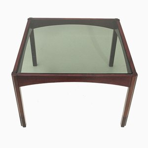 Mid-Century Italian Square Coffee Table, 1960s