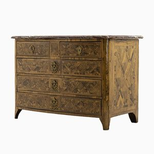 18th Century French Parquetry Chest of Drawers