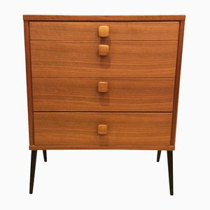Mid-Century Teak Chest of Drawers by A. Tibro for Ulferts, 1960s