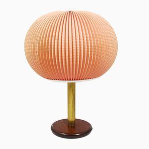 Lámpara de mesa belga, años 50