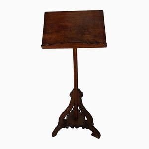 Antique Poplar Wood Lectern, 1680s