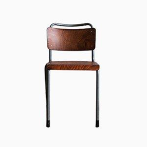 Vintage Model 106 School Chair by Willem Hendrik Gispen for Gispen