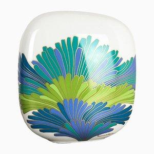 Vaso vintage in porcellana di Rosemonde Nairac per Rosenthal