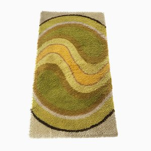 Vintage German High-Pile Rug, 1970s