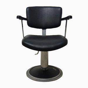 Silla de barbero alemana vintage, años 60