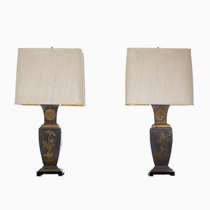 Vintage Lampen, 1970er, 2er Set