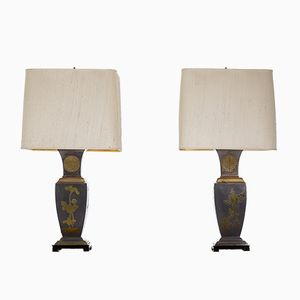 Vintage Lamps, 1970s, Set of 2
