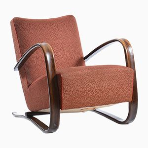 H269 Armchair by Jindrich Halabala for UP Zavody, 1930s