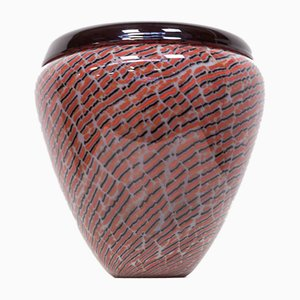 Murano Glass Vase from Seguso, 1990s