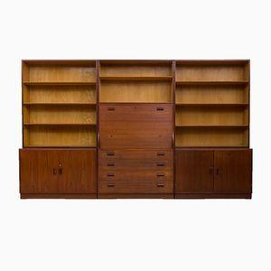 Bibliothèque avec Bureau par Børge Mogensen pour Søborg Møbelfabrik, 1960s