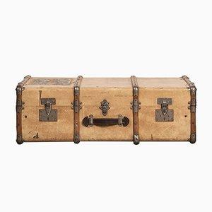 Vintage Vellum Suitcase, 1920s