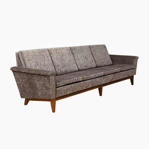 Mid-Century Four-Seater Sofa