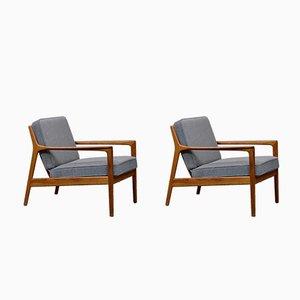 USA-75 Armlehnstühle von Folke Ohlsson für Dux, 1950er, 2er Set