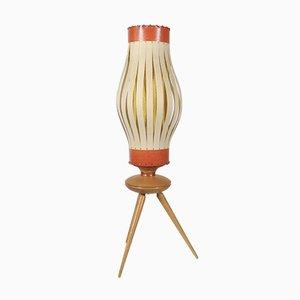 Lámpara de mesa francesa, años 50